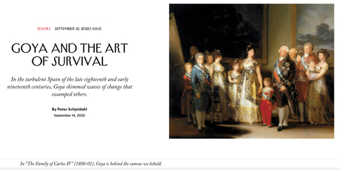 20i24 Goya and the Art of Survival The New Yorker